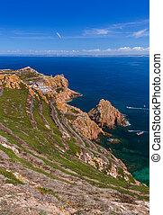 Berlenga island - Portugal - nature background