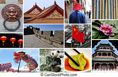 Chines collage