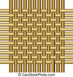 cestería,  -,  seamless, estructura