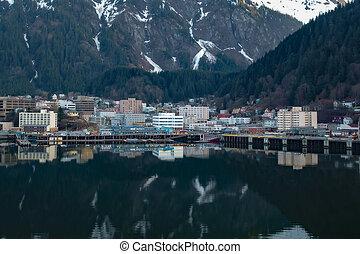 Juneau Harbor - Entrance to Juneau Alaska