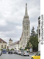 Matthias church in Budapest - The Matthias church in...