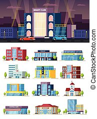 Municipal Buildings Composition - Municipal buildings...