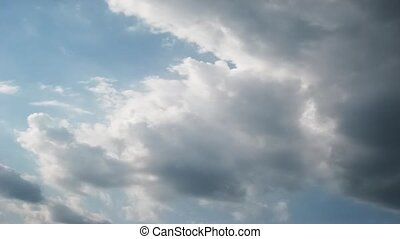 blue sky and clouds sky - The vast blue sky and clouds sky,...