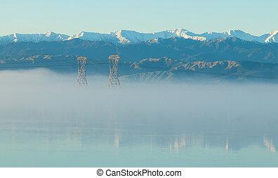 Tararua Rangers Winter MIst Morning