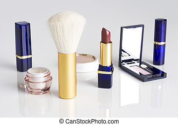 Womens makeup assortment
