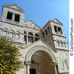 Mount Tabor - The Church of the Transfiguration on Mount...