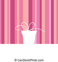 Gift box - background with gift box
