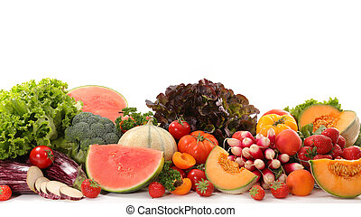 assorted fruits and vegetables