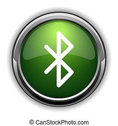 Bluetooth icon0 - Bluetooth icon. Bluetooth website button...
