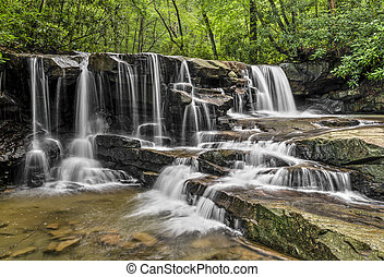 Upper Jonathan Run Falls - Jonathan Run is a beautiful...