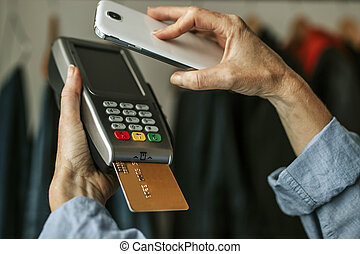 payment with mobile phone
