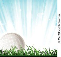 Golf Ball Background