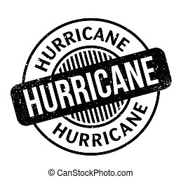 Hurricane rubber stamp