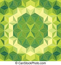 24 - Vector Abstract Mosaic Pattern or Background