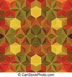 35 - Vector Abstract Mosaic Pattern or Background