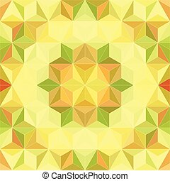 42 - Vector Abstract Mosaic Pattern or Background