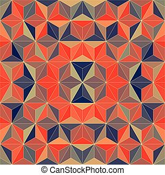 20 - Vector Abstract Mosaic Pattern or Background