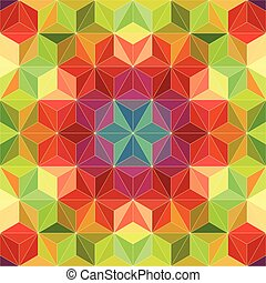 40 - Vector Abstract Mosaic Pattern or Background