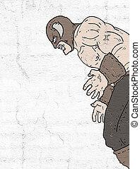 forte, Ilustração, Bárbaro