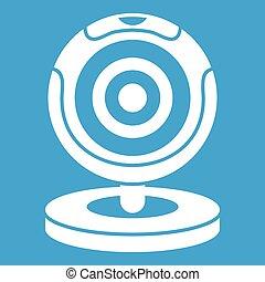 Webcam icon white
