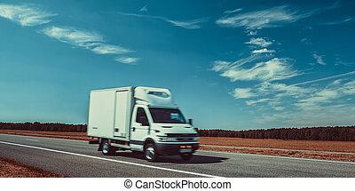 Light truck travel