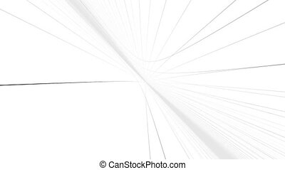 """Abstract white perspective grid hall "" - ""Abstract white..."