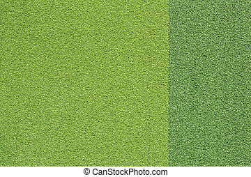 Bright and dark artificial green grass for texture and background