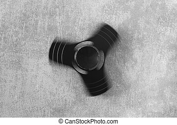 Hand spinner. A fidget toy for increased focus, stress...