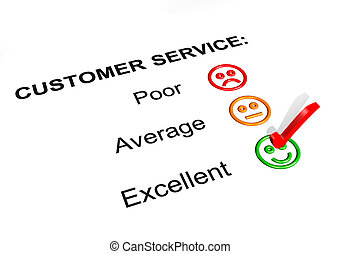 Customer Service Excellent Rating