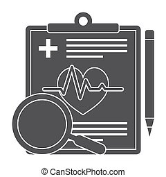 Medical Diagnostic Vector Icon