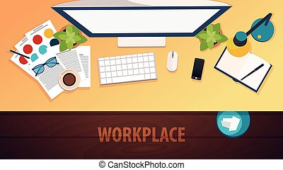 Workplace office, co-working centre, university campus,...