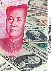 China Business yuan and the dollar