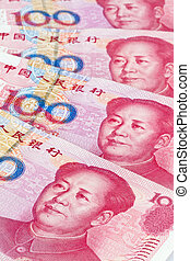 China Business yuan. Chinese Currency - Yuan notes from...
