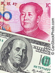 China Business yuan and the dollar - Chinese currency yuan...