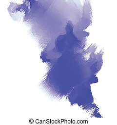 Abstract inkblot background. Color grunge paint design....