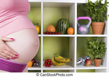 Pregnancy and nutrition, vitamins