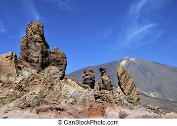 Roques de garcia - Roques de Garcia. Rock Formation in Mount...