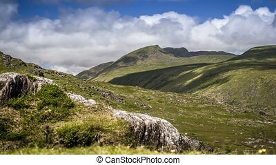 Time Lapse - Landscapes At Molls Gap, County Kerry, Ireland...