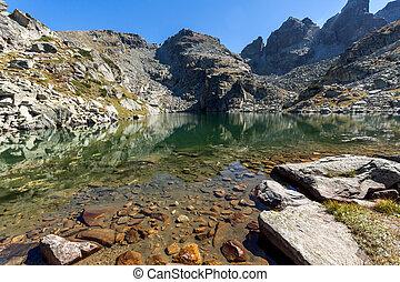 ary lake and Kupens peaks, Rila Mountain - Amazing landscape...