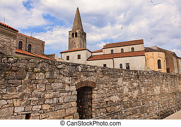 Belltower of the Euphrasian Basilica, Porec - Belltower of...
