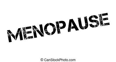 Menopause rubber stamp. Grunge design with dust scratches....