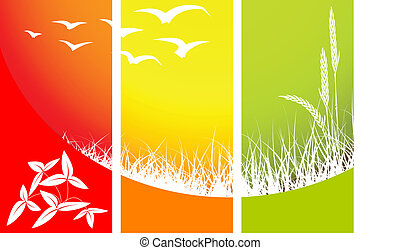 Abstract nature background