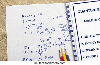 Quantum mechanics concept- many uses in the quntum physics...