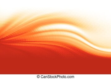 Fire flame. Abstract vector wave background