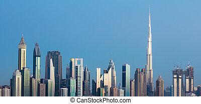 Dubai Skyline, UAE