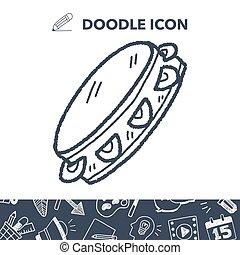 tambourine doodle