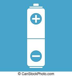 Battery icon white