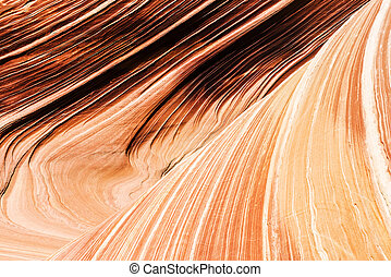The Wave is an awesome vivid swirling petrified dune...