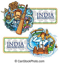 Indian background showing its incredible culture and...