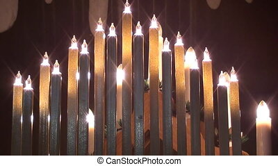 candle arch - arch of lights